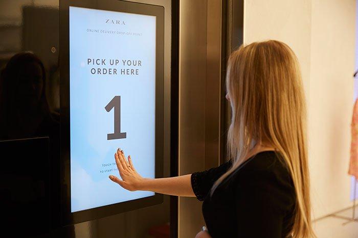 At Zara, Inditex is already testing omnichannel processes. Photo: Inditex