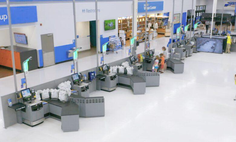 Bild von Walmart probt das Ende traditioneller Kassen