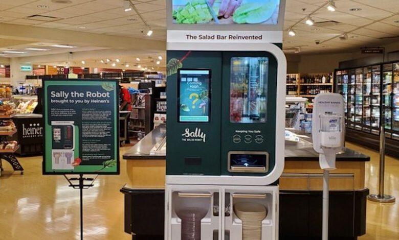 US-Händler Heinen's setzt Salat-Roboter von Chowbotics ein. Quelle: Heinen´s