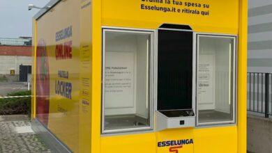 Bild von Esselunga gibt Online-Bestellungen am Automaten aus