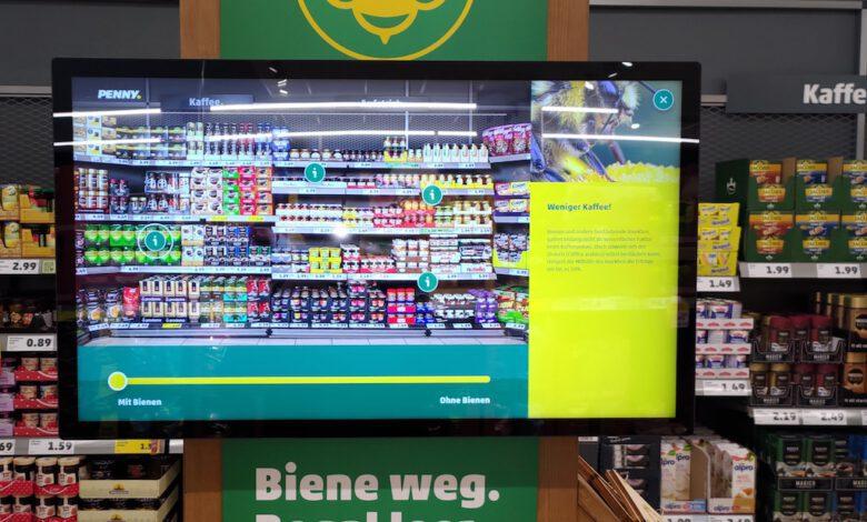 Bild von Penny-Kunden erleben Nachhaltigkeit mit Touchpoints von Instore Solutions