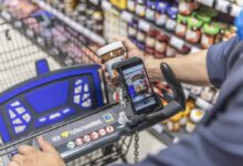 Photo of Edeka and Penny secure shoppers' smartphone with Wanzl