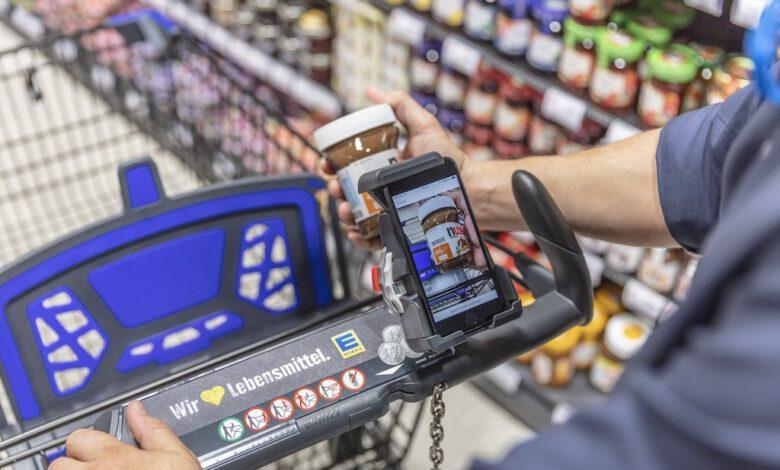 Bild von Edeka und Penny sichern die Smartphones ihrer Kunden mit Wanzl