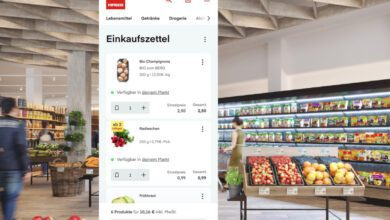 Bild von M-Preis zeigt seinen Kunden das Filialsortiment auch online