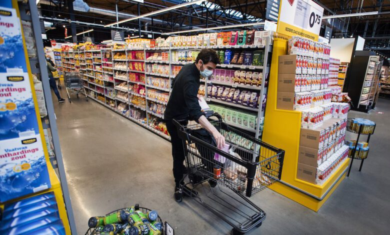 Dutch retail company Jumbo just started a trial with the innovative trolleys. (Photo: Jumbo)