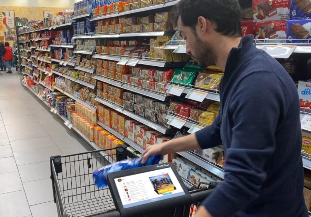 WalkOut benötigt keine RFID- oder Barcode-Scanner, um Waren zu erkennen. (Foto: WalkOut)