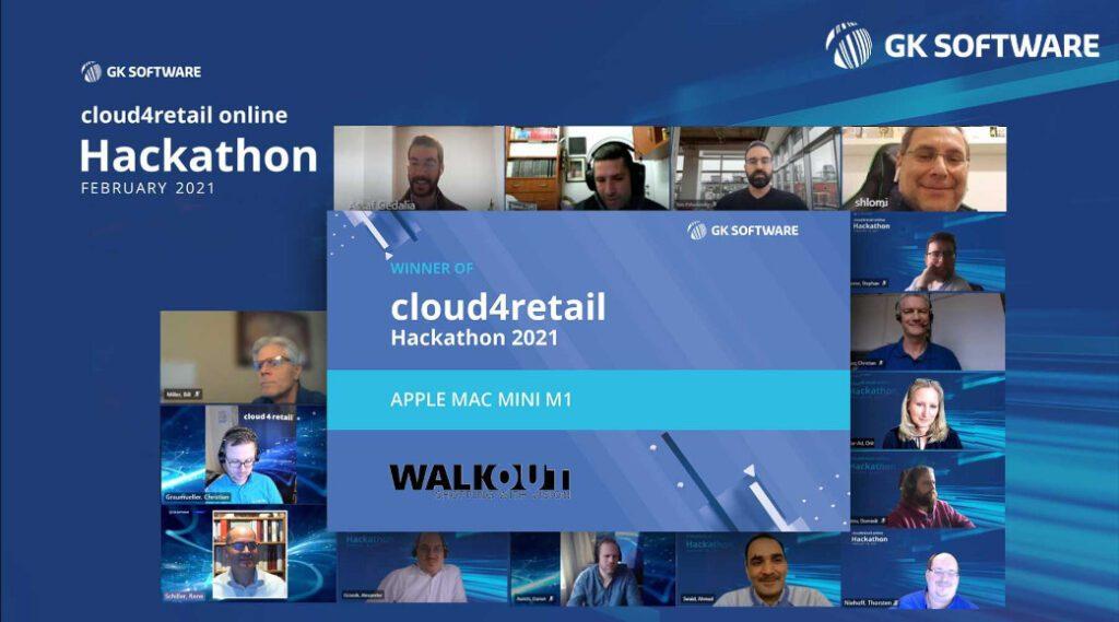 WalkOut ist Gewinnern des diesjährigen Hackathon von GK Software.