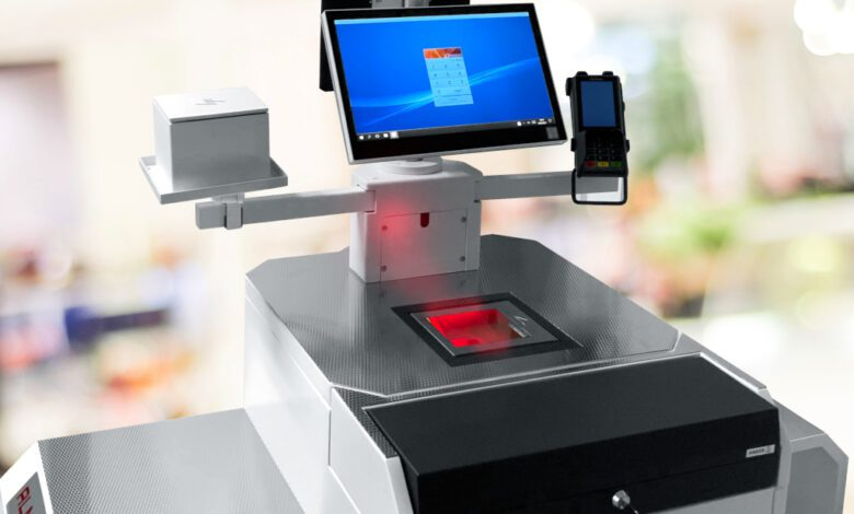 Im Handumdrehen von bedienter Kasse zum Self-Checkout. (Foto: Lodata)