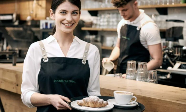 Manufactum uses the same POS software in the catering operations of its Brot&Butter shops as in the retail business. (Photo: Manufactum)