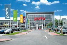 The furniture store in Bornheim near Bonn is one of 28 large Porta houses in Germany. (Photo: Porta)