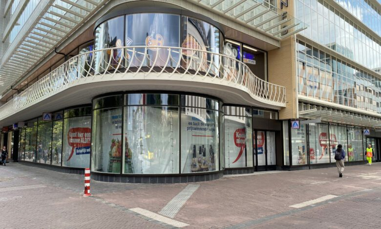 Ongoing preparations behind the scenes: Aldi Nord plans to offer a cashierless shopping experience in this Utrecht shop in early 2022 using technology from Israeli startup Trigo. (Photo: Aldi Nord)
